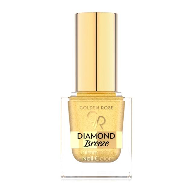 GR DIAMOND BREEZE Лак за нокти с блестящи частици